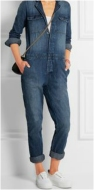 Macacão jeans: peça prática.