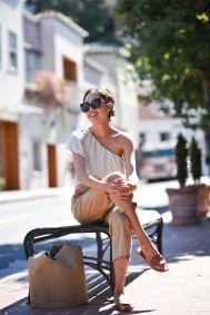 Para festas ao ar livre escolha tecidos leves e calçados confortáveis.